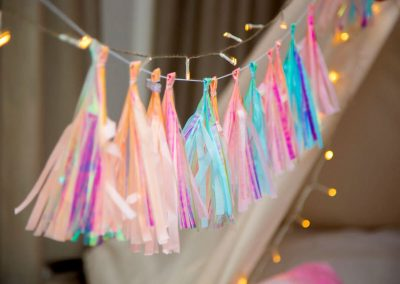 Sparkles-theme-Teepee Party for kids in Cape Town