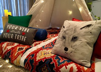 Into The Wild-theme-Teepee Party for kids in Cape Town