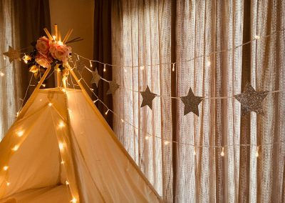 Cape Town Teepee Slumber party for kids – the dream theme